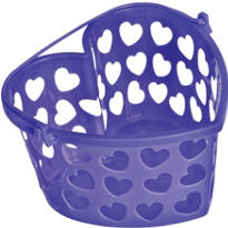 Purple Heart Container 7in