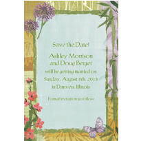 Serenity Custom Invitation