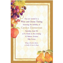 Sonoma Custom Invitation