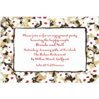 Japanese Blossoms Custom Invitation