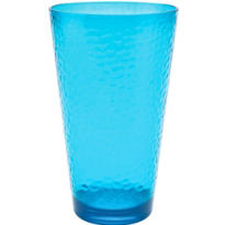 Blue High Ball Plastic Tumbler 20oz