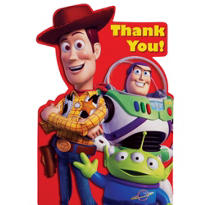 Toy Story 3 Thank You Notes 8ct
