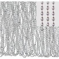 Silver Bead Necklaces 50ct