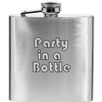 Party Time Flask 6oz