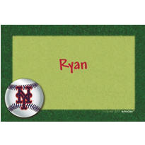 New York Mets Custom Thank You Note