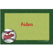 Baltimore Orioles Custom Thank You Note