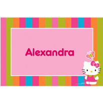 Hello Kitty Custom Thank You Note