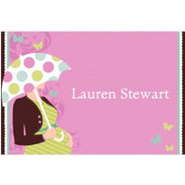 Great Expectations Custom Baby Shower Thank You Note