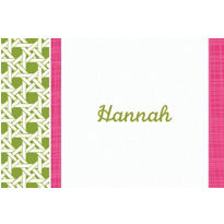 Fresh Hues Kiwi Custom Thank You Note