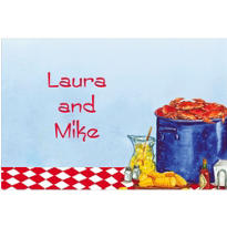 Party with Maryland Crabs Custom Thank You Note