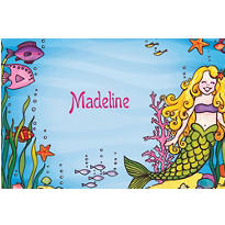 Underwater Mermaid Custom Thank You Note