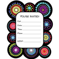 Graphic Fun Invitations 50ct