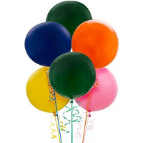 Assorted Premium Latex Balloons 36in 6ct