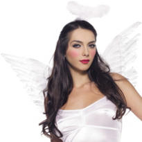 White Angel Costume Kit