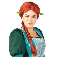 Shrek Princess Fiona Wig