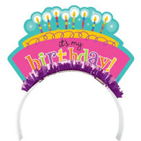 Perfect Time to Party Birthday Headband