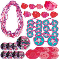 Rocker Girl Favor Pack 48pc