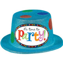 Perfect Time to Party Top Hat