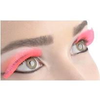 Neon Pink False Eyelashes