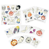 Night Glow Temporary Tattoos