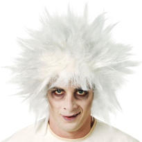 White Shock Treatment Wig