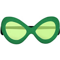 St. Patricks Day Diva Sunglasses