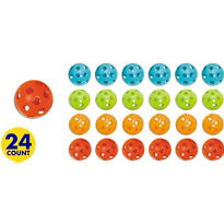 Colored Plastic Ball 24ct