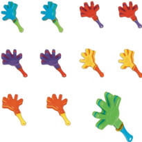 Mini Hand Clappers 48ct