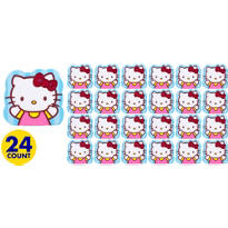 Hello Kitty Die Cut Notepad 24ct
