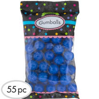 Royal Blue Gumballs 55pc