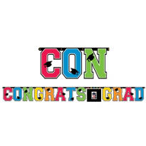 Personalized Giant Letter Graduation Banner 10ft