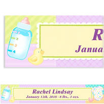 Pastel Patchwork Custom Banner 6ft