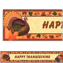 Thanksgiving Scrapbook Custom Banner