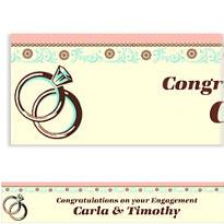 Custom Bridal Shower Day Banner