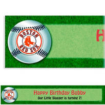Boston Red Sox Custom Banner 6ft