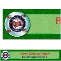 Minnesota Twins Custom Banner 6ft