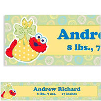 Baby Elmo Custom Banner 6ft