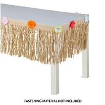 Natural Grass Mini Table Skirt 9ft