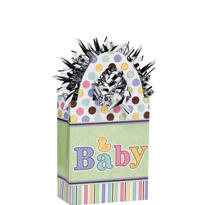 Tiny Bundle Baby Shower Balloon Weight