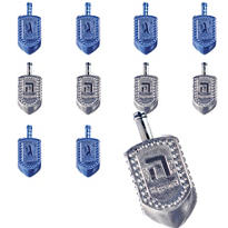 Metallic Dreidels 48ct