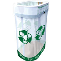 Party Flings Recycling Bin 13 Gallon