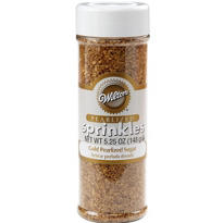 Gold Sugar Sprinkles 5.25oz