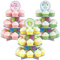Baby Feet Cupcake Stand