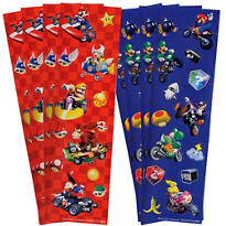 Super Mario Stickers 2 Sheets