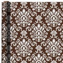 Jumbo Chocolate Brocade Gift Wrap