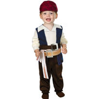 Baby Jack Sparrow Costume - Pirates of the Caribbean