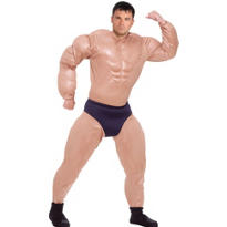 Adult Mr. Muscles Costume