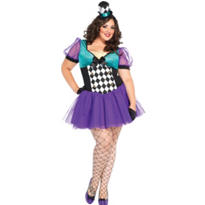 Adult Miss Mad Hatter Costume Plus Size