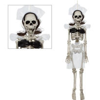 Hanging Bride Skeleton 18in