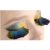 Peacock Feather False Eyelashes